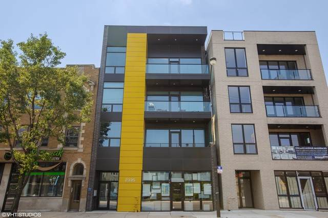2335 W Chicago Avenue 2R, Chicago, IL 60622 (MLS #10762499) :: Property Consultants Realty