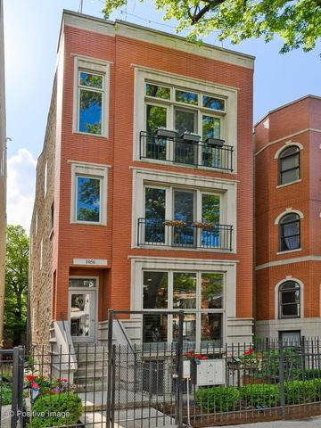 1056 N Paulina Street #1, Chicago, IL 60622 (MLS #10763402) :: Property Consultants Realty