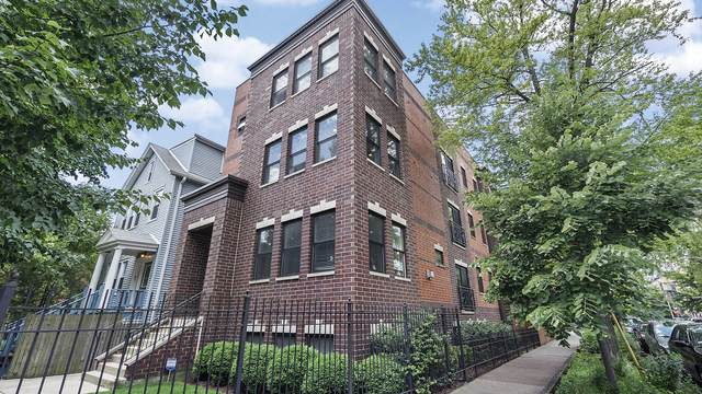 1858 N Talman Avenue #2, Chicago, IL 60647 (MLS #10764793) :: Property Consultants Realty