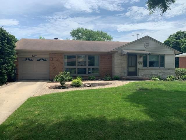 707 W Dresser Drive, Mount Prospect, IL 60056 (MLS #10765147) :: Knott's Real Estate Team