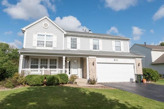 851 Fieldcrest Drive, Naperville, IL 60540 (MLS #10765974) :: Touchstone Group