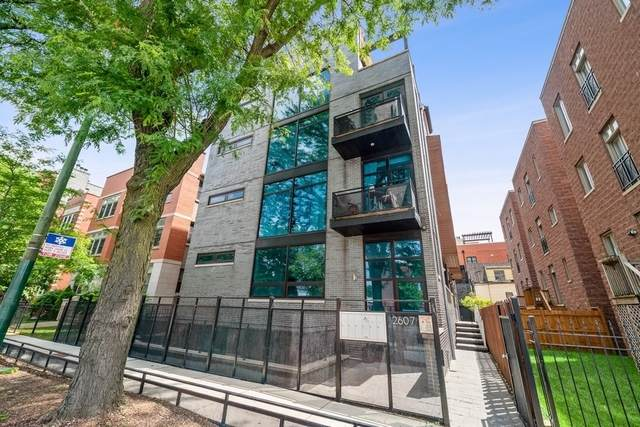 2607 N Ashland Avenue 1W, Chicago, IL 60614 (MLS #10766837) :: Property Consultants Realty