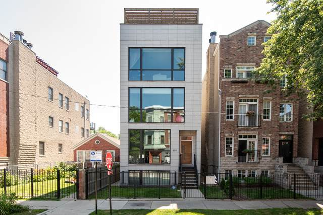 859 N Wood Street #3, Chicago, IL 60622 (MLS #10767674) :: BN Homes Group
