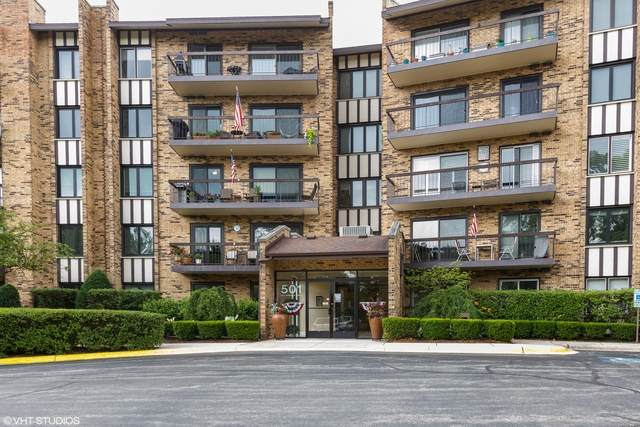 501 Lake Hinsdale Drive #106, Willowbrook, IL 60527 (MLS #10767891) :: Property Consultants Realty