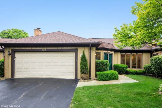 739 Tomlin Drive C-5, Burr Ridge, IL 60527 (MLS #10767911) :: The Spaniak Team