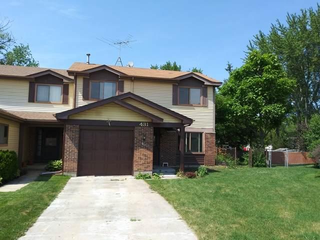 431 Irvine Court, Wheeling, IL 60090 (MLS #10767943) :: Helen Oliveri Real Estate