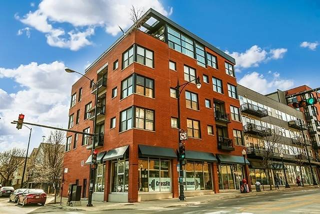 1601 S Halsted Street #205, Chicago, IL 60608 (MLS #10768234) :: Ryan Dallas Real Estate