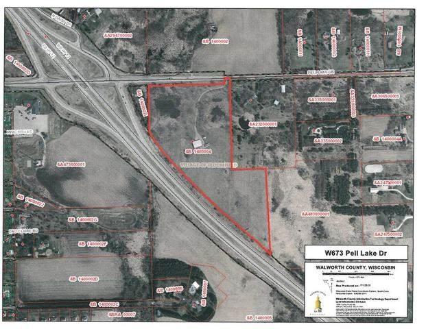 W673 Pell Lake Drive, Bloomfield, WI 53128 (MLS #10768336) :: John Lyons Real Estate