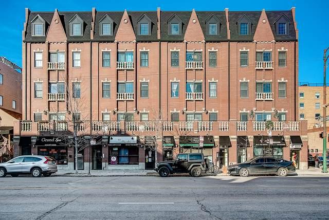 1402 W Grand Avenue #3, Chicago, IL 60642 (MLS #10769679) :: Property Consultants Realty