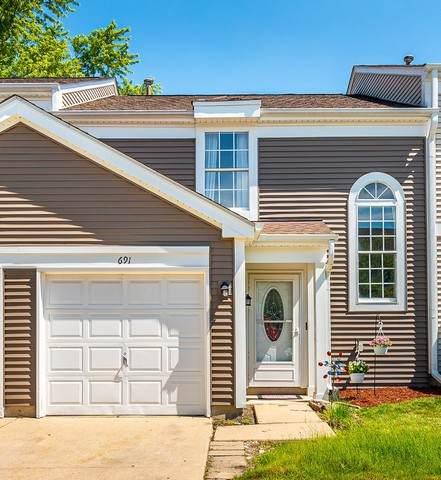 691 Canterbury Drive, Hanover Park, IL 60133 (MLS #10769834) :: Angela Walker Homes Real Estate Group