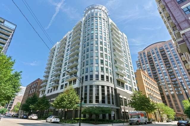 421 W Huron Street #1005, Chicago, IL 60654 (MLS #10769838) :: Suburban Life Realty