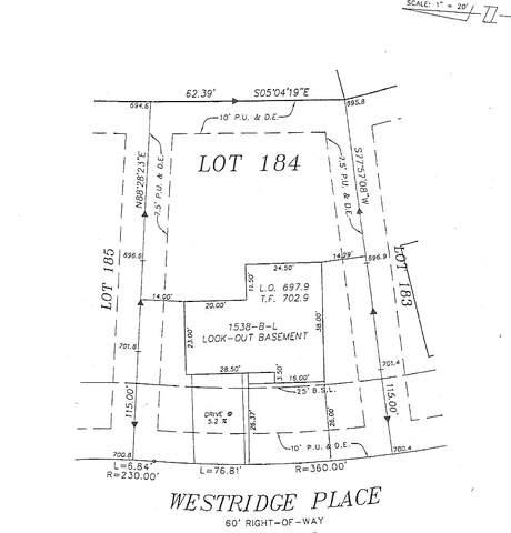 1838 Westridge Place, Aurora, IL 60504 (MLS #10770918) :: The Spaniak Team