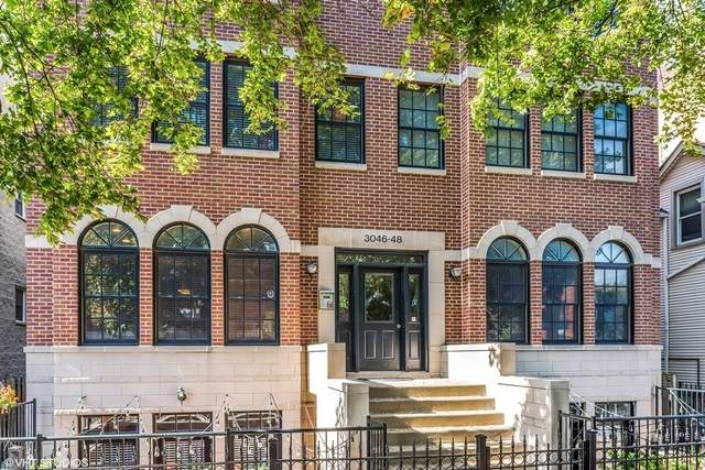 3046 N Oakley Avenue 3S, Chicago, IL 60618 (MLS #10770971) :: Touchstone Group