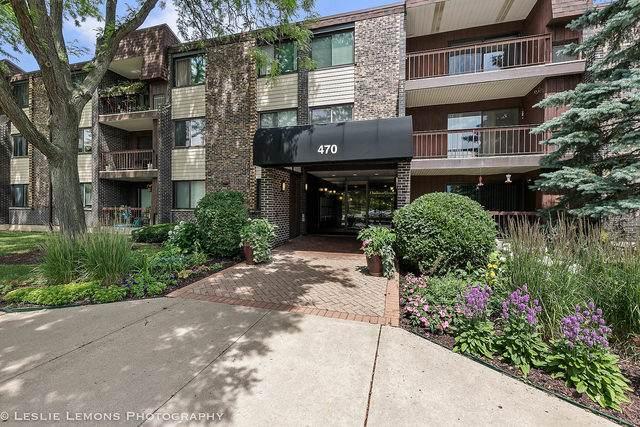470 Raintree Court 3P, Glen Ellyn, IL 60137 (MLS #10771067) :: John Lyons Real Estate