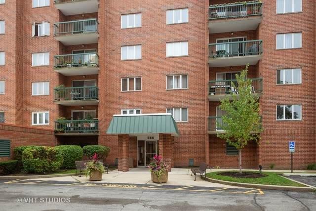 555 S River Road #501, Des Plaines, IL 60016 (MLS #10771387) :: John Lyons Real Estate