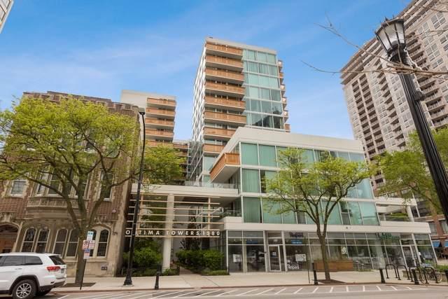 1580 Sherman Avenue #510, Evanston, IL 60201 (MLS #10771535) :: Ryan Dallas Real Estate