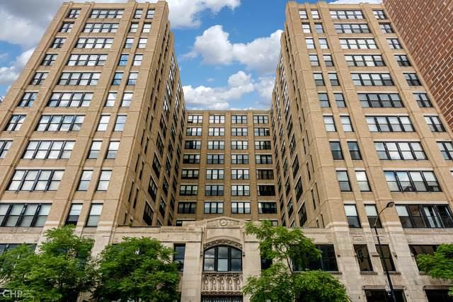 728 W Jackson Boulevard #912, Chicago, IL 60661 (MLS #10771544) :: Ryan Dallas Real Estate