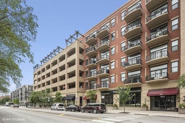 1301 W Madison Street #601, Chicago, IL 60607 (MLS #10771655) :: Ryan Dallas Real Estate