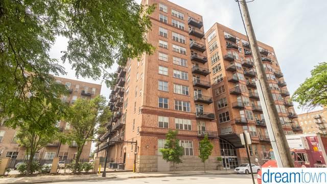500 S Clinton Street #520, Chicago, IL 60607 (MLS #10771659) :: Ryan Dallas Real Estate
