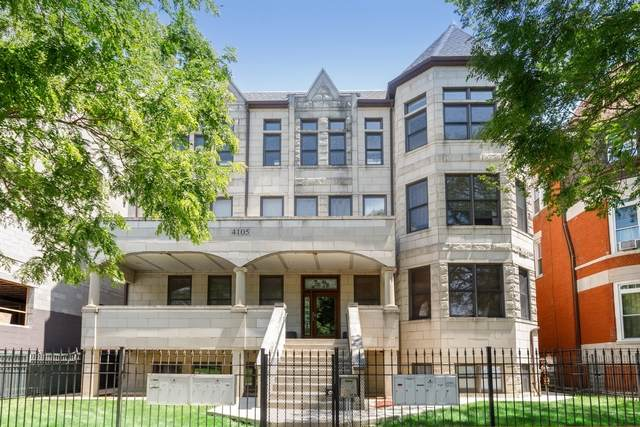 4105 S Drexel Boulevard 3SF, Chicago, IL 60653 (MLS #10771877) :: Angela Walker Homes Real Estate Group