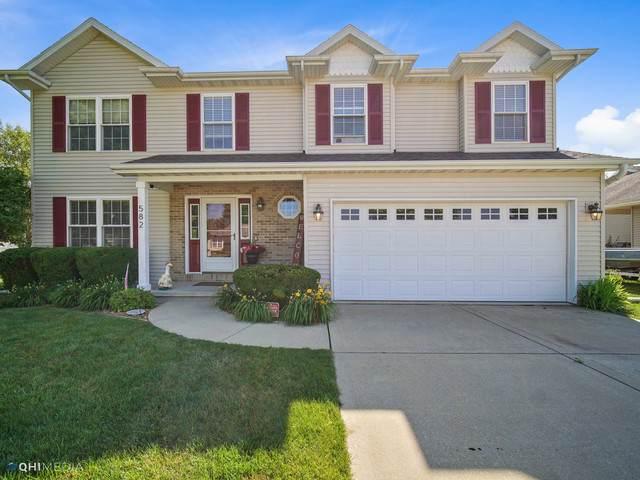 582 Turnberry Drive, Bourbonnais, IL 60914 (MLS #10772816) :: Ryan Dallas Real Estate