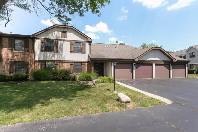 317 Oak Meadow Court C1, Schaumburg, IL 60193 (MLS #10773262) :: Knott's Real Estate Team
