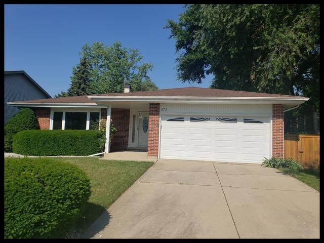 472 Raphael Avenue, Buffalo Grove, IL 60089 (MLS #10773870) :: Property Consultants Realty