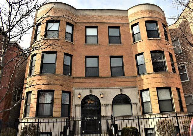 4918 S Indiana Avenue 2S, Chicago, IL 60615 (MLS #10774927) :: Property Consultants Realty