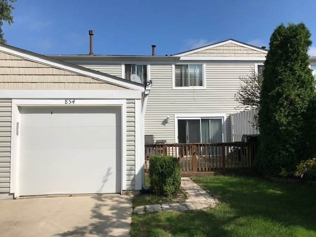 854 Oxford Place C115, Wheeling, IL 60090 (MLS #10775154) :: Littlefield Group