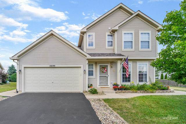 2680 Jenna Circle, Montgomery, IL 60538 (MLS #10775613) :: The Wexler Group at Keller Williams Preferred Realty