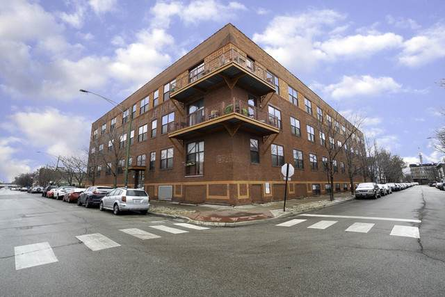 1061 W 16th Street #106, Chicago, IL 60608 (MLS #10776489) :: Ryan Dallas Real Estate