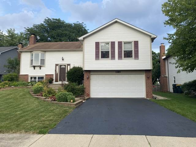 1185 Spring Valley Drive, Carol Stream, IL 60188 (MLS #10776551) :: Angela Walker Homes Real Estate Group