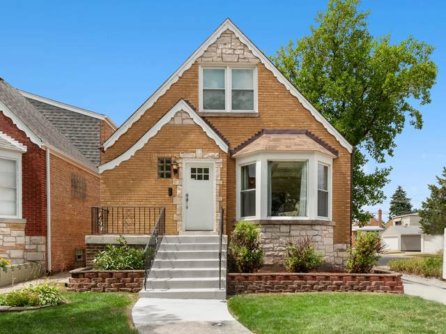 3858 N Newcastle Avenue, Chicago, IL 60634 (MLS #10777324) :: Angela Walker Homes Real Estate Group
