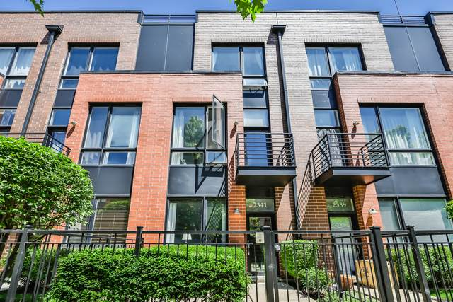 2341 W George Street, Chicago, IL 60618 (MLS #10777852) :: Littlefield Group
