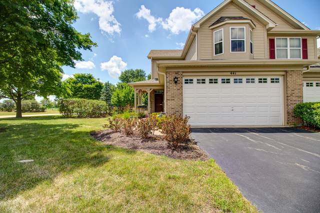 441 Dancer Lane #1, Oswego, IL 60543 (MLS #10778097) :: Ryan Dallas Real Estate