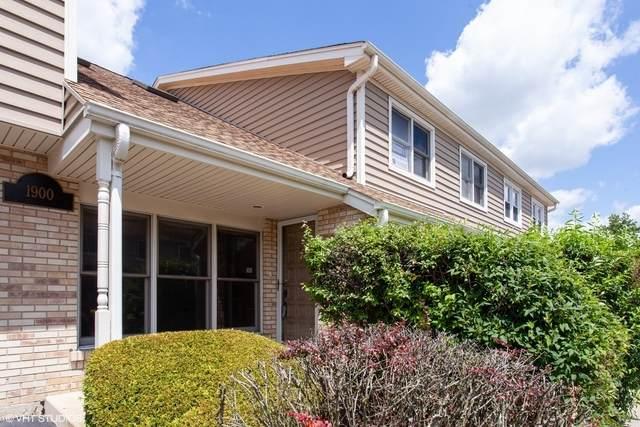 1900 Wisteria Court #5, Naperville, IL 60565 (MLS #10778743) :: Helen Oliveri Real Estate