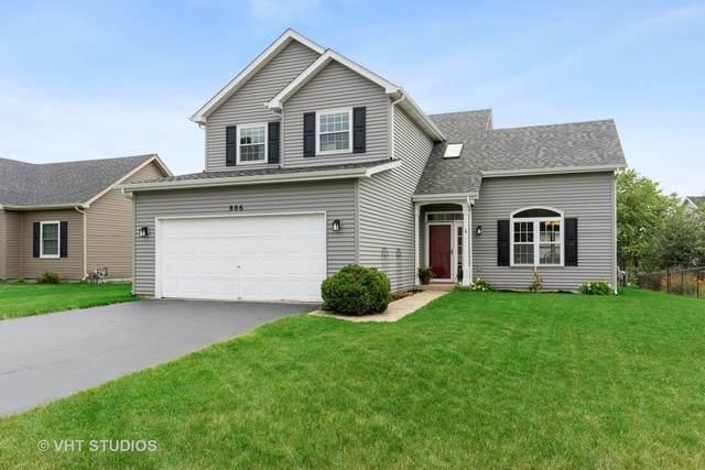806 Magnolia Drive, North Aurora, IL 60542 (MLS #10779587) :: Property Consultants Realty