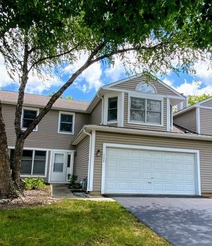706 Hamilton Circle #706, Schaumburg, IL 60194 (MLS #10780086) :: John Lyons Real Estate
