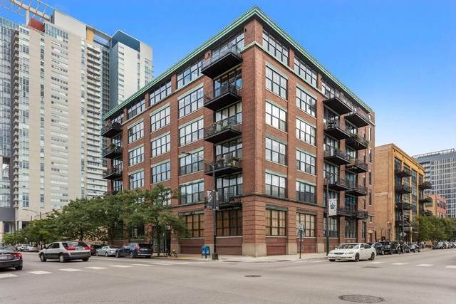 817 W Washington Boulevard #607, Chicago, IL 60607 (MLS #10781747) :: Property Consultants Realty