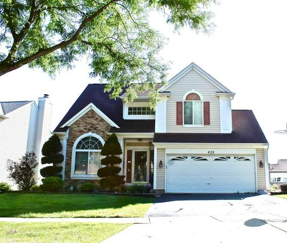 422 Cardinal Drive, Bartlett, IL 60103 (MLS #10782319) :: John Lyons Real Estate