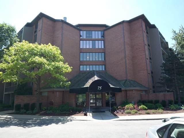 75 Kristin Circle #520, Schaumburg, IL 60195 (MLS #10782688) :: Angela Walker Homes Real Estate Group