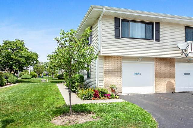 1314 Forestdale Court #1314, Schaumburg, IL 60193 (MLS #10784199) :: John Lyons Real Estate