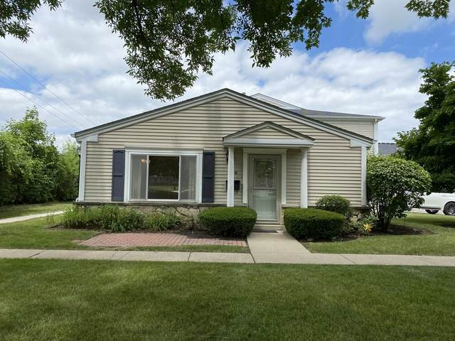 1540 Cove Drive 242A, Prospect Heights, IL 60070 (MLS #10785322) :: John Lyons Real Estate