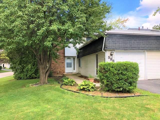 588 Sharon Way, Bolingbrook, IL 60440 (MLS #10786515) :: John Lyons Real Estate