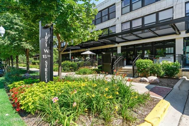1071 W 15TH Street #210, Chicago, IL 60608 (MLS #10787656) :: BN Homes Group