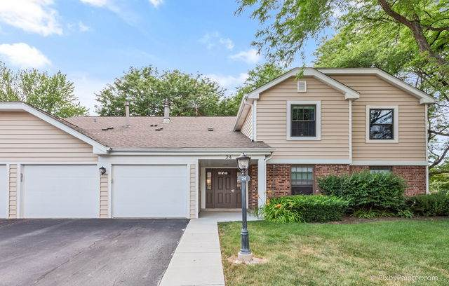 24 Lambert Drive B2, Schaumburg, IL 60193 (MLS #10787874) :: Angela Walker Homes Real Estate Group