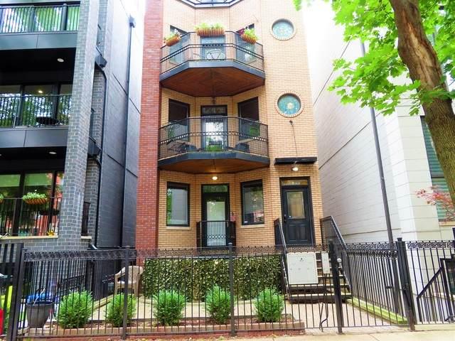 1031 N Marshfield Avenue #1, Chicago, IL 60622 (MLS #10788375) :: John Lyons Real Estate