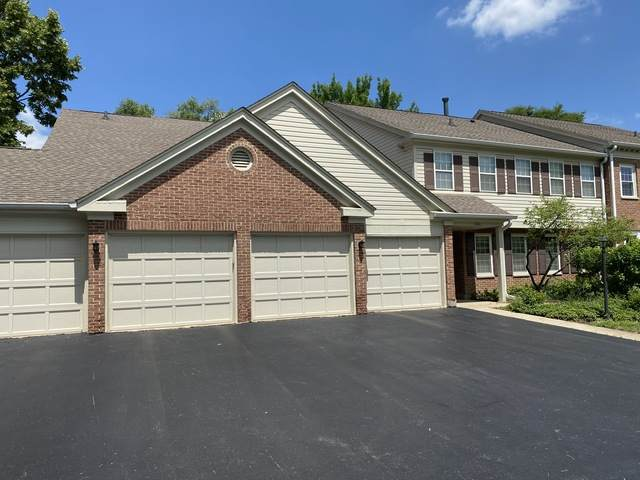 1604 Queens Court A2, Wheeling, IL 60090 (MLS #10789017) :: John Lyons Real Estate