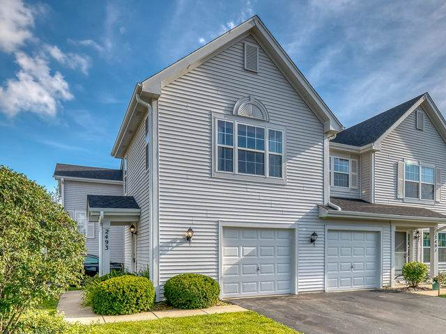 2493 Dickens Drive #2493, Aurora, IL 60503 (MLS #10793121) :: The Wexler Group at Keller Williams Preferred Realty