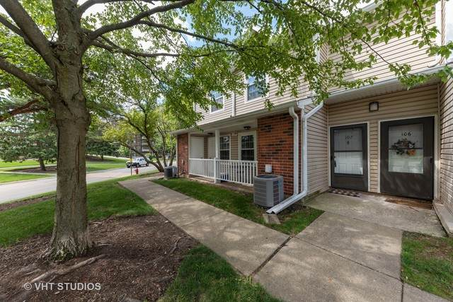 1281 Wyndham Lane #107, Palatine, IL 60074 (MLS #10793388) :: John Lyons Real Estate
